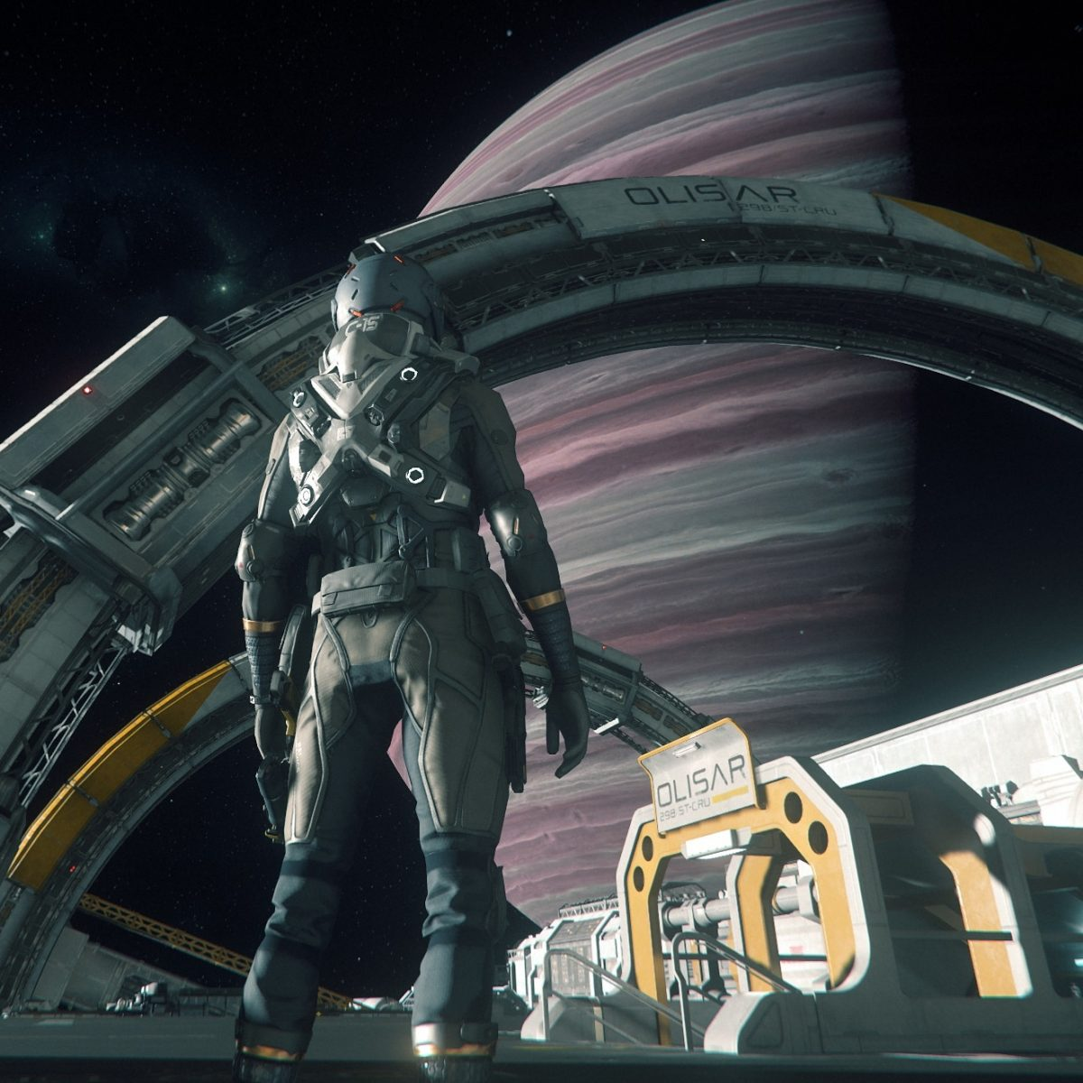 Star Citizen: Port Olisar